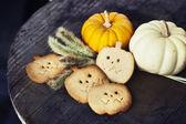 Domowe pierniki halloween — Zdjęcie stockowe