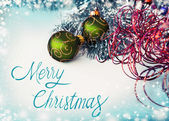 Merry christmas festive background — Stok fotoğraf