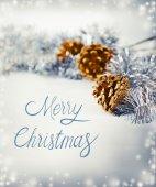 Fondo festiva de feliz navidad — Foto de Stock