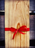 Blank Gift wooden Tag — Stock Photo