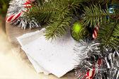 Decorações de natal feliz — Fotografia Stock
