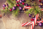 New year holiday background — Stock Photo