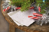 Christmas paper background — Stock Photo