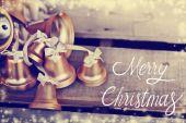 Vánoční dovolená zvony — Stock fotografie