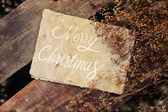 Merry Christmas holiday background — Stockfoto