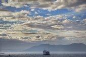 Large cruise ship — Stock Photo