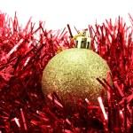 Golden Christmas ball — Stock Photo #60982381