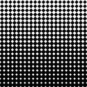 Rhombus halftone — Stock Vector