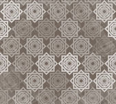Seamless pattern with interlocking elements — ストックベクタ