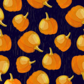Pumpkin pattern — Stock Vector