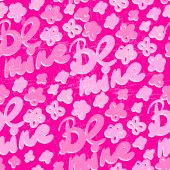 Seamless Valentines day Pattern — Wektor stockowy
