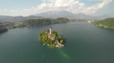 Lake Bled — Stock Video