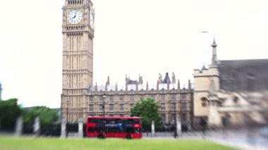House of parliament — Stock Video