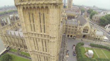 Flying around Big Ben — Stock Video