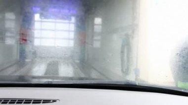 Car wash — Stock Video