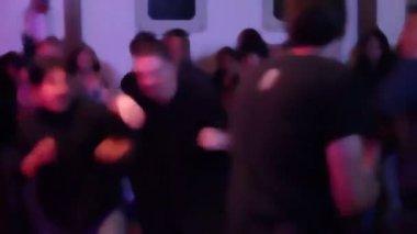 Concert crowd — Stock Video