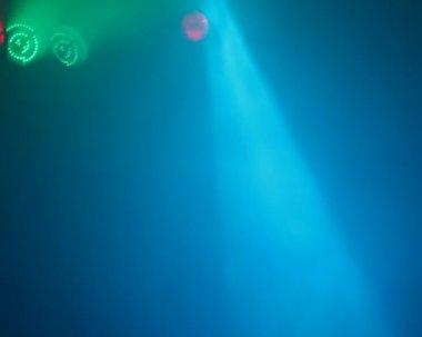 Konsert reflektorer bakgrund — Stockvideo