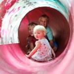 Happy kids on playground — Stock Photo #66200305