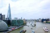 London's cityscape from Tower Bridge — Stock Photo