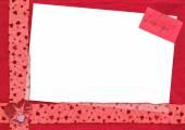 Love You postcard — Stock Photo
