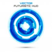 Futuristic interface background — Stock Vector