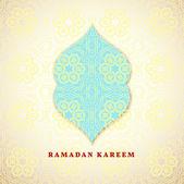 Ramadan greetings background — Stockvektor