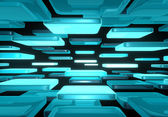 Abstract background. Abstract illustration of 3d cubes — Stock Photo