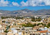 View from the Ledra Observatory in south Nicosia, Cyprus. — Stock Photo