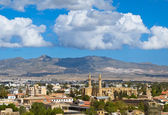 View over Turkish side Northern Nicosia — Stock Photo
