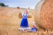 Kids during Oktoberfest — Stock Photo