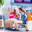 Family at the airport — Stock Photo #53996297