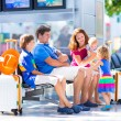 Family at the airport — Stock Photo #55276973