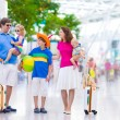 Family at the airport — Stock Photo #55276975