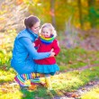 Mother and daughter in a park — Stock Photo #56435249