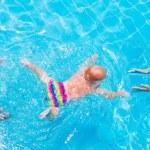 Baby swimming underwater — Stock Photo #56943333