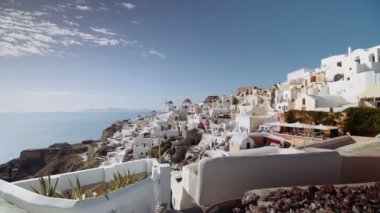 Oia, Santorini Greece — Stock video