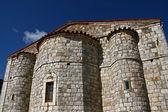 Stone made orthodox ancient church — Stockfoto