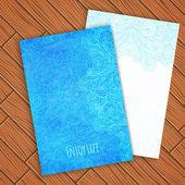 Card template — Stock Vector