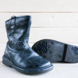 Childrens boots — Stock Photo #54165357