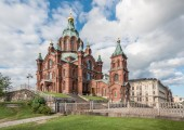 Uspenski Cathedral, Helsinki — Stock Photo