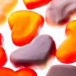 Gummy hearts — Stock Photo #53975961