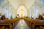 W kościele — Zdjęcie stockowe
