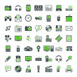 Multimedia icons set. — Stock Vector #54353001