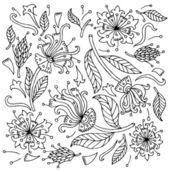 Flowers set — Stock Vector