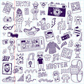 Hipster swag  set — Vector de stock