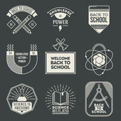 School and science icons set. — Stockvektor