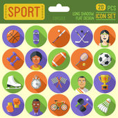 Sport  icon set. — Stock Vector