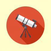 Telescope icon. — Stock Vector