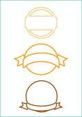 Stamp simple design — Stock Photo