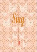 Book cover free design — Stock Vector
